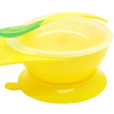 Snug Suction Bowl and Spoon for Baby / Toddler By Newborn