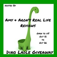 The Dino Ladle Giveaway #TheDinoLadle