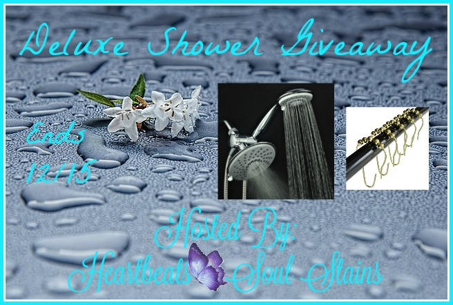 Deluxe Shower Giveaway