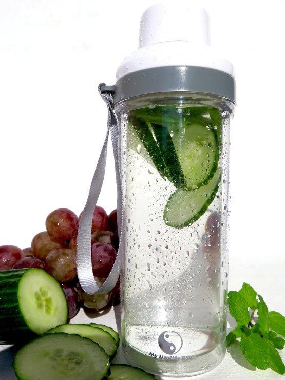 glass water bottle 2