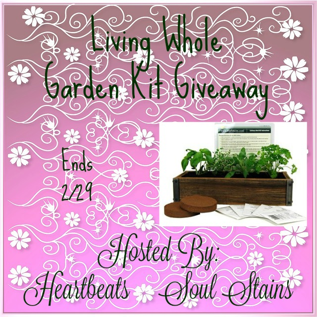 living whole garden kit giveaway