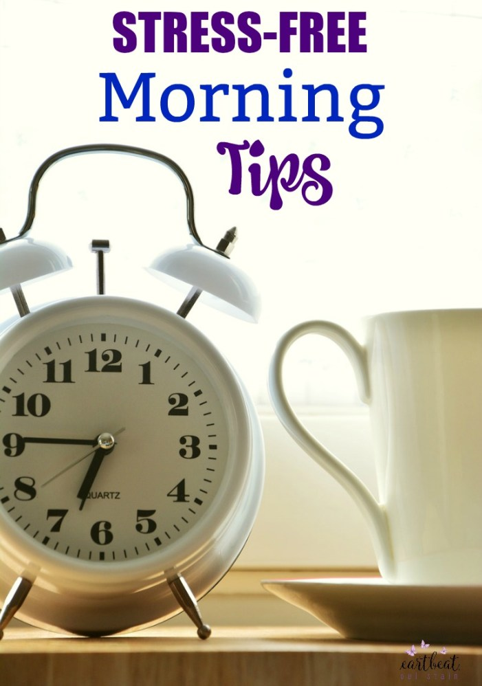Mornings can be complicated but they don't have to be if you follow these tips for a Stress-Free Morning Routine. Start enjoying your mornings again.