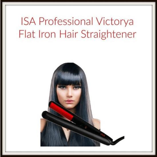 ISA Professional Victorya Flat Iron Hair Straightener