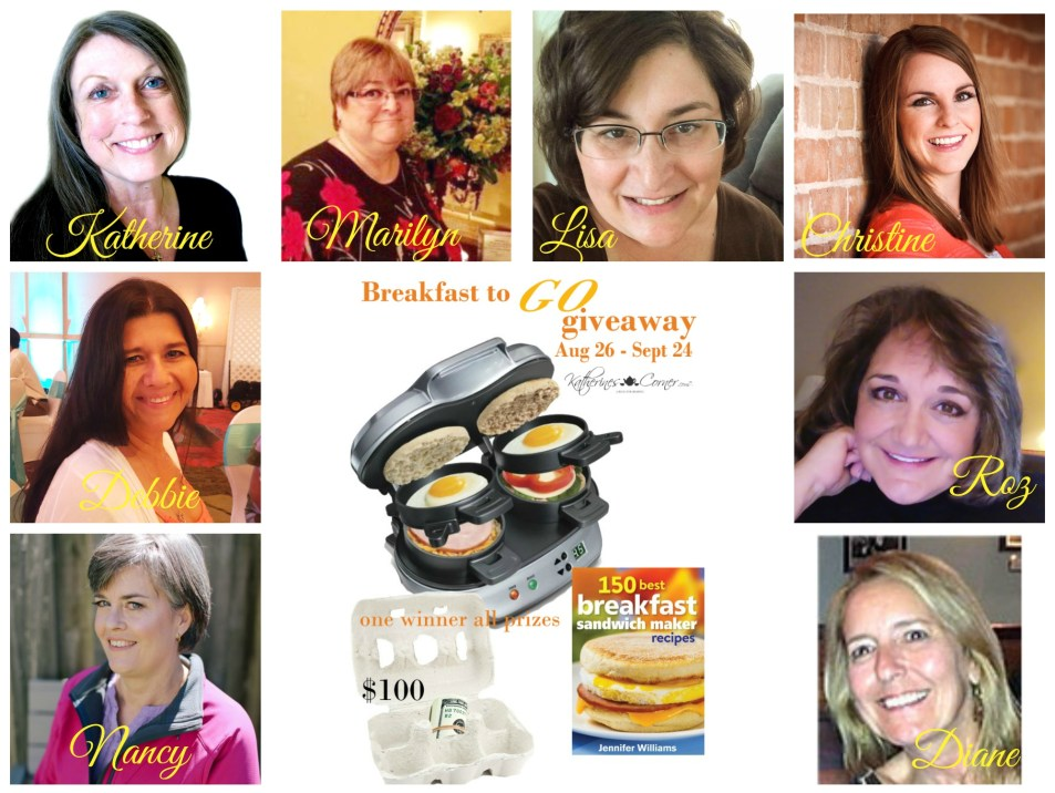 breakfast to go giveaway hostesses