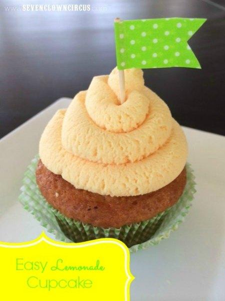 lemonade-cupcake