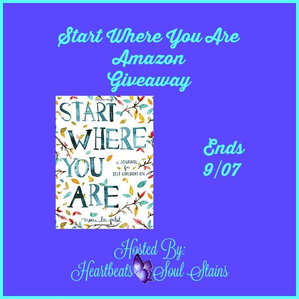 start where you are amazon giveaway