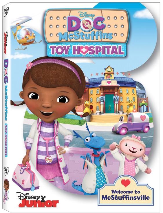 Doc McStuffins Toy Hospital DVD Giveaway