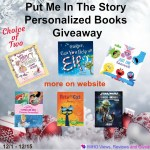 Put Me In The Story Personalized Books Giveaway #putmeinthestory