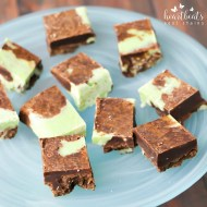 Easy Mint Chocolate Fudge