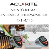 AcuRite Non-Contact Infrared Thermometer Giveaway