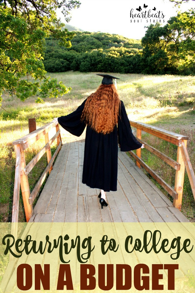 The biggest issues outside of time management is figuring out How to Return to College on a Budget.  Here are awesome tips to help you fulfill your dreams!