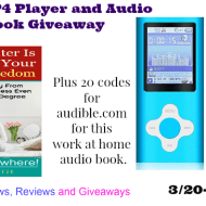 MP3/MP4 Player and Audio Book Giveaway