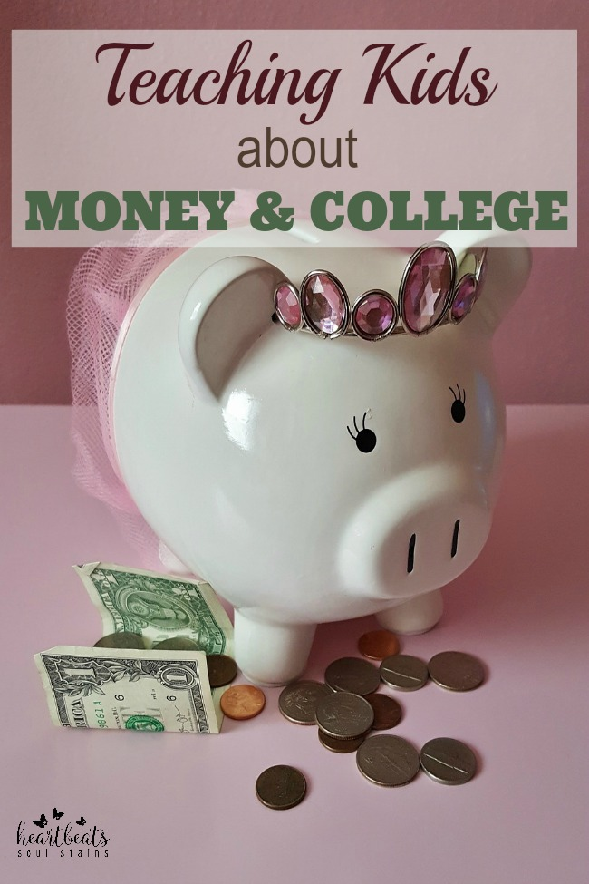 It is never too early to start Teaching Your Kids About Money And College.  Check out these tips for helping your kids to understand and navigate their way through.