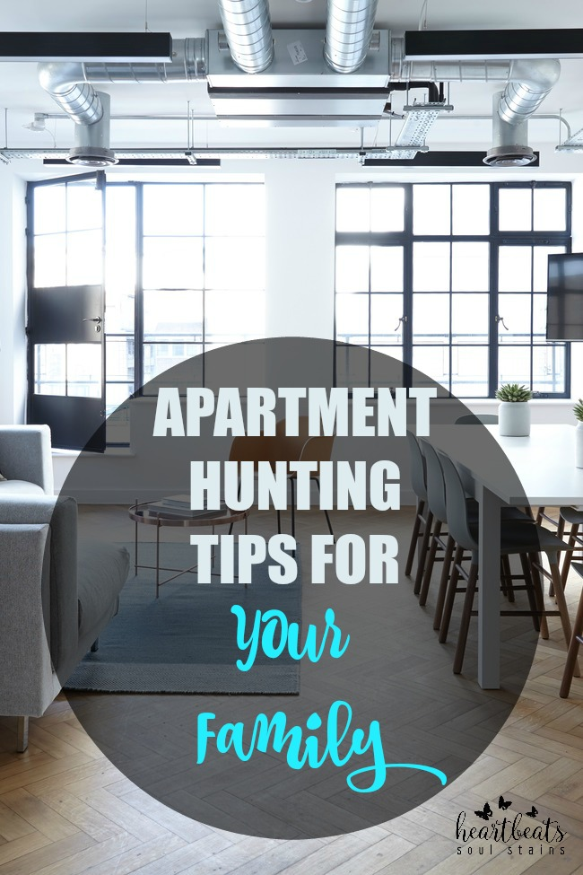 Tips For Apartment Hunting For Your Family