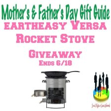 Eartheasy Versa Rocket Stove Giveaway