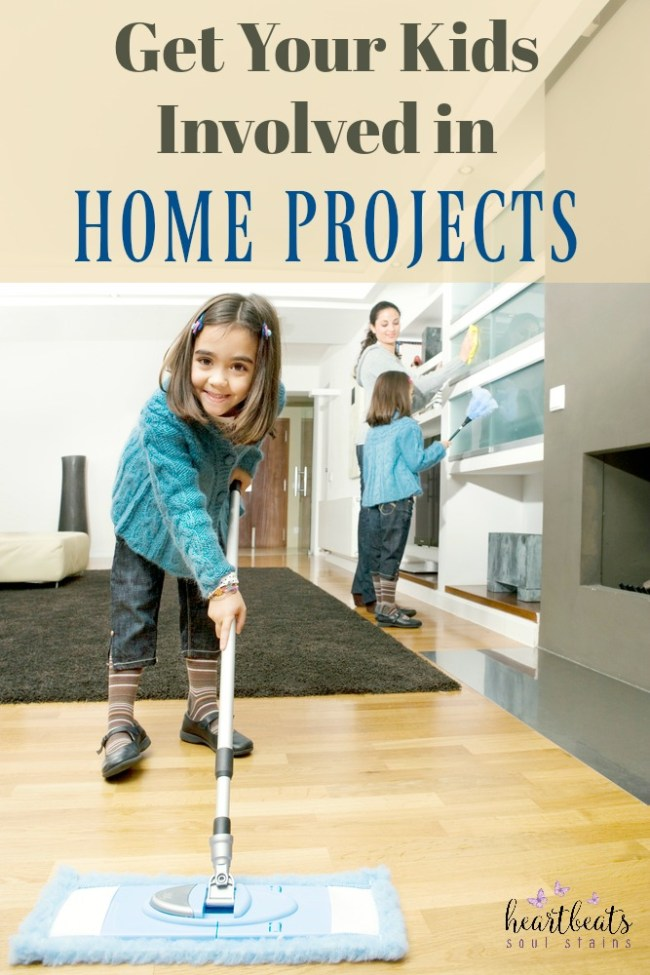 There are tons of things to do around the house. How about getting our little ones to help. Here are Easy DIY Home Projects for Kids everyone will love.