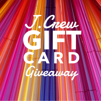 J.Crew Gift Card Giveaway