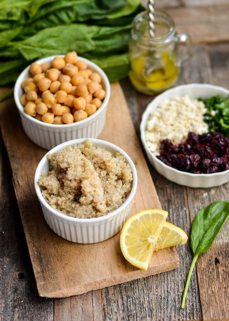 Make our Zesty Quinoa Salad as a delicious option to spice up your lunch menu! High protein and gluten-free, this is a favorite meal!