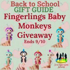 Fingerlings Baby Monkeys Giveaway