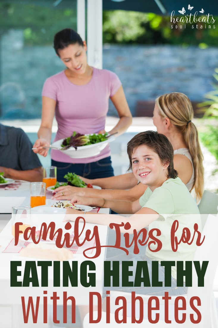 As more and more people are diagnosed with diabetes it begins to become a family diagnosis. Here are tips for Incorporating Healthy Eating for Diabetes for the whole family.