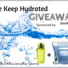The Keep Hydrated Giveaway