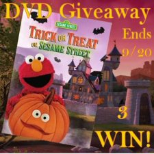Trick or Treat on Sesame Street DVD Giveaway