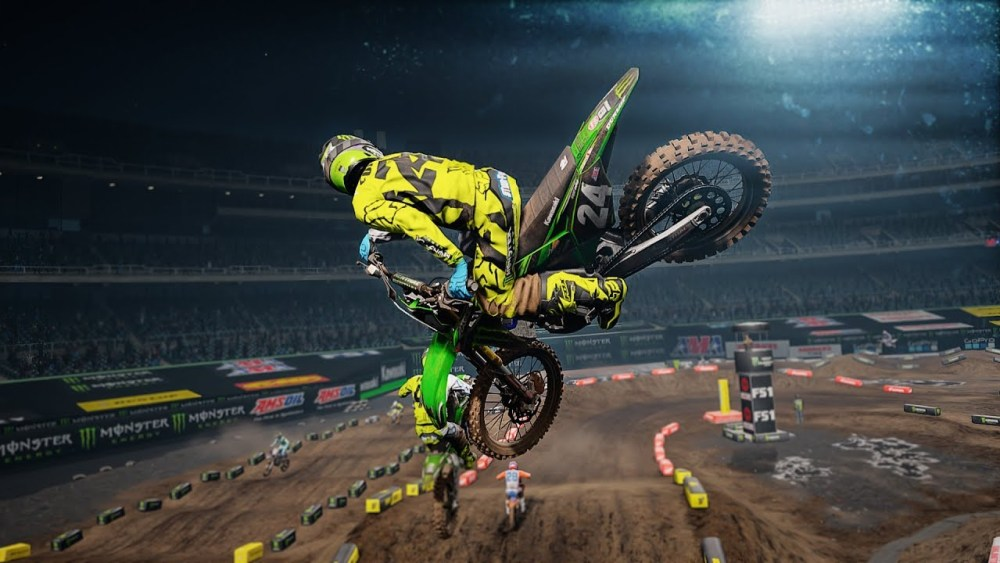Monster Energy Supercross The Oficial Videogame.