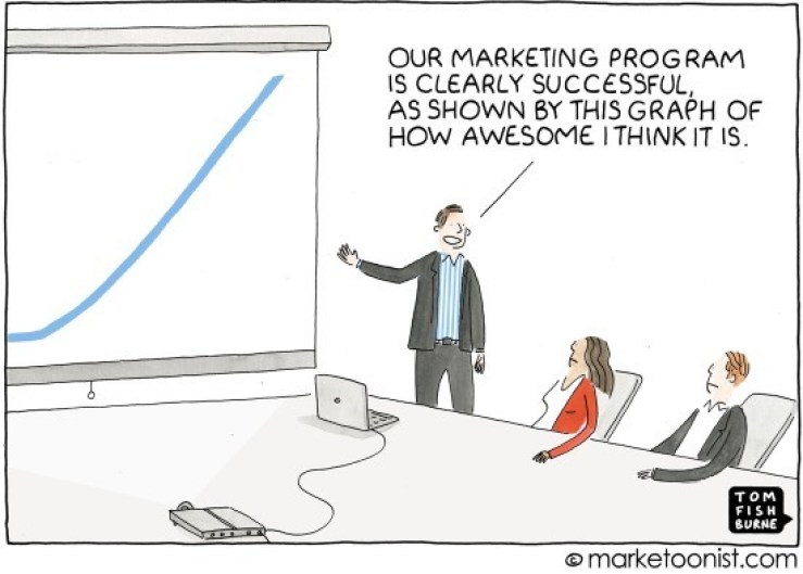 Vanity Metrics Cartoon