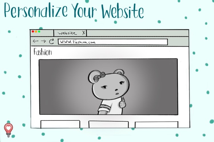 personalize your landing page to make it more impressive