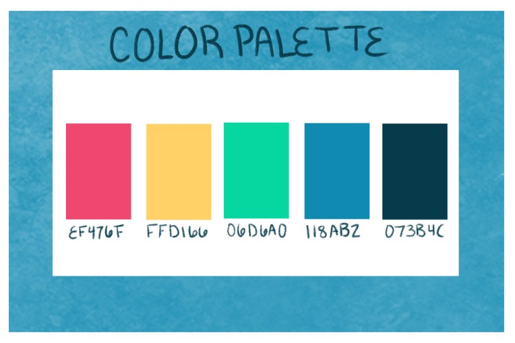 Selecting a color palette is very important when learning how to develop brand guidelines