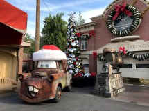 Disneyland Cars Land Christmas