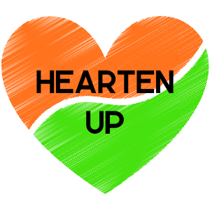 Hearten Up logo medium size