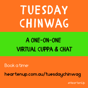 Tuesday Chinwag 30 min virtual cuppa to stay connected