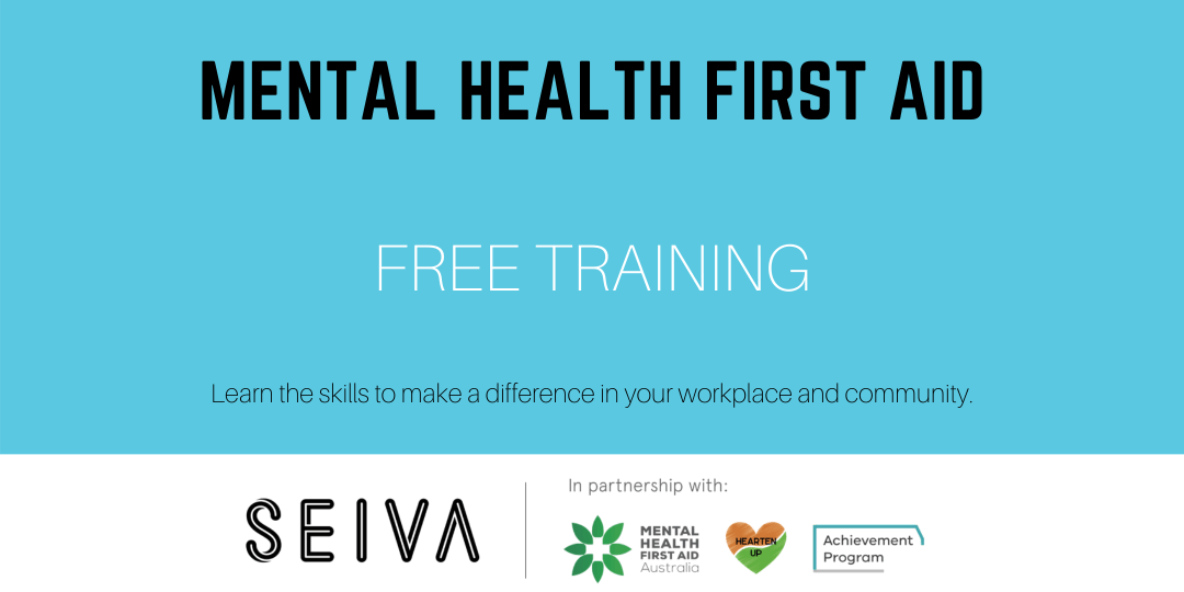 Free mental health training provided by SEIVA, delivered by Hearten Up