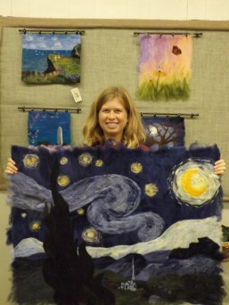 Kris and The Starry Night
