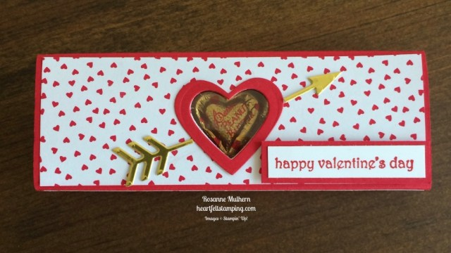 Stampin Up Sending Love Valentine Box - Rosanne Mulhern stampinup