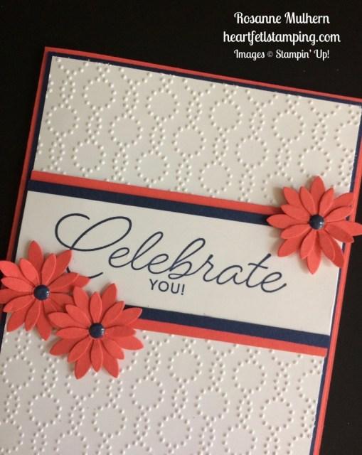 Stampin Up Birthday Blast Birthday Card Idea - Rosanne Mulhern