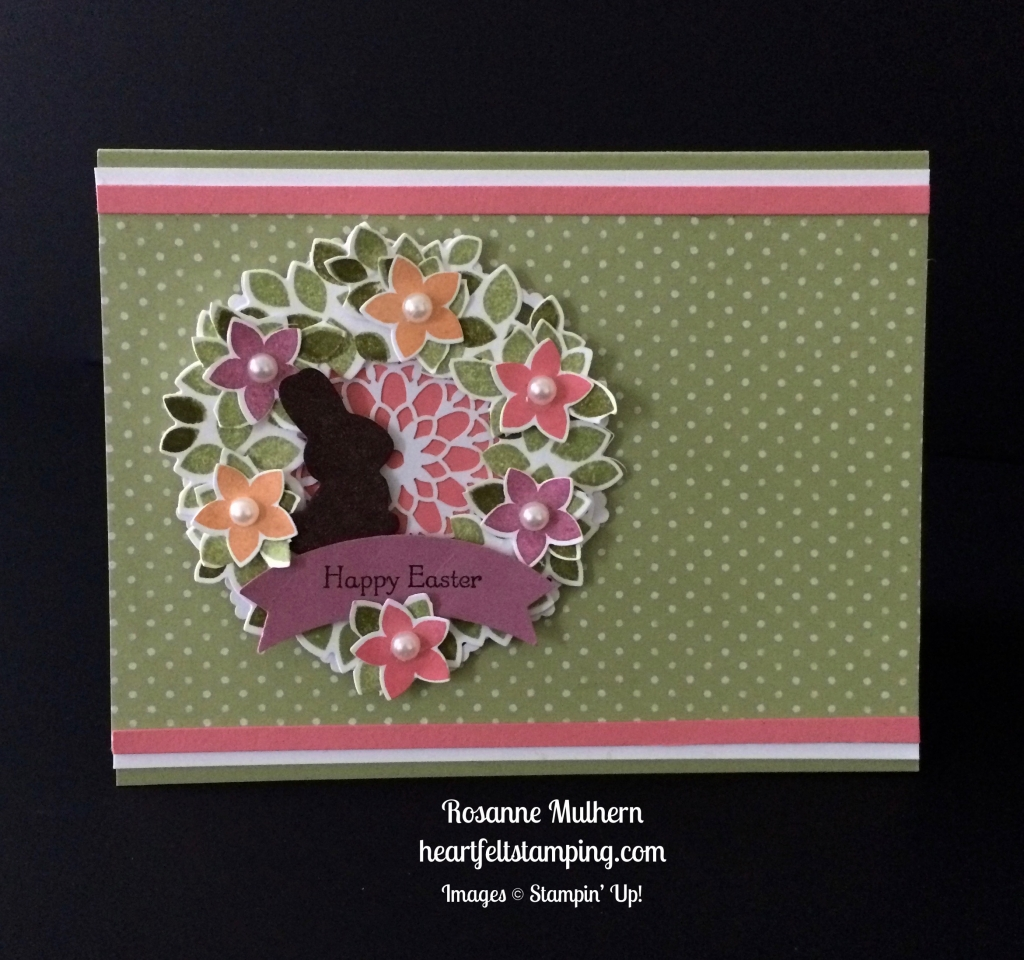 Wondrous Easter Wreath Heartfelt Stamping