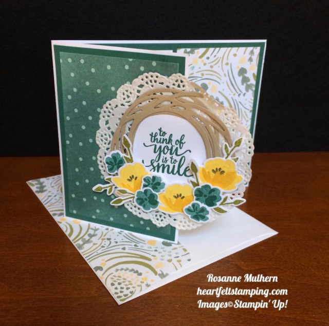 Stampin Up Jar of Love Just Because Card - Rosanne Mulhern stampinup