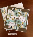 Stampin Up Whole Lot of Lovely and Best Birds birthday cards ideas - Rosanne Mulhern stampinup