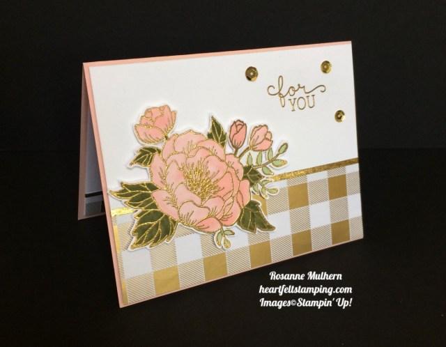 Stampin Up Birthday Blooms Birthday Card Ideas - Rosanne Mulhern