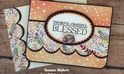 Stampin Up Clean & Classic Sympathy Card - Rosanne Mulhern