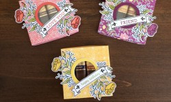 Stampin Up Lots of Happy Card Kit Candy Boxes - Rosanne Mulhern