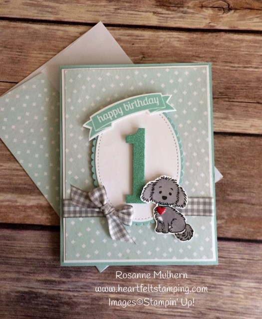 Stampin Up Bella and Friends Birthday Cards - Rosanne Mulhern
