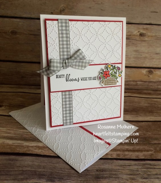 Stampin Up Bike Ride Mother's Day Card Ideas - Rosanne Mulhern Heartfelt Stamping