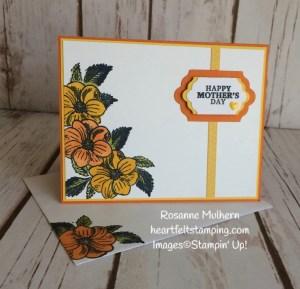 Stampin Up March Paper Pumpkin Alternate Project 3 - Rosanne Mulhern Heartfelt Stamping