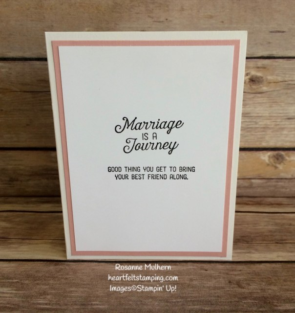 Stampin Up Birthday Blooms Wedding Cards Ideas - Rosanne Mulhern Heartfelt Stamping