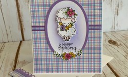 Newtons Nook Woodland Spring Easter Card -Rosanne Mulhern