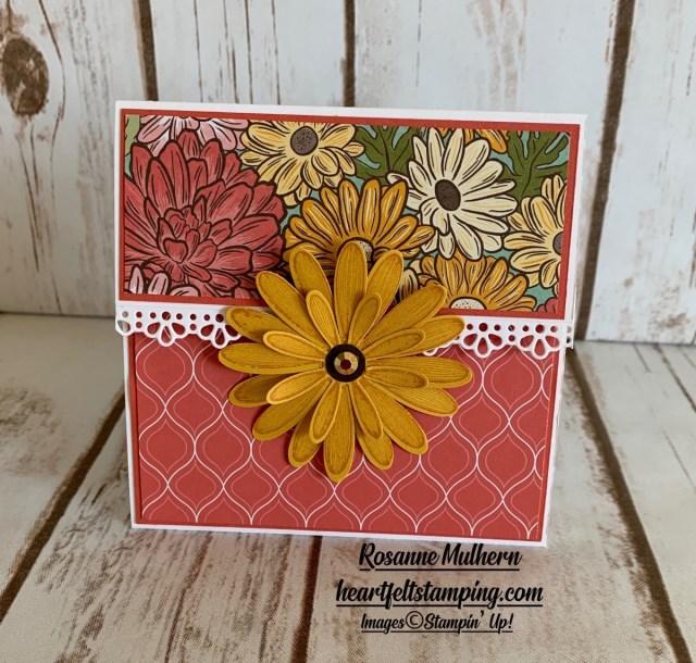 Stampin Up Ornate Garden Gift Card Holders -Rosanne Mulhern stampinup