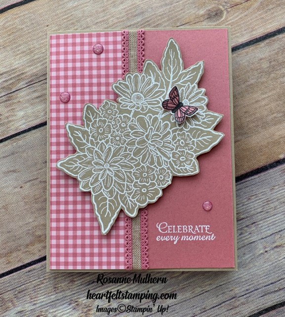 Stampin Up Ornate Style Mothers Day Card- Rosanne Mulhern stampinup